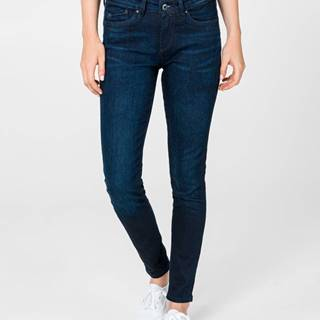 Pepe Jeans Pixie Jeans Modrá