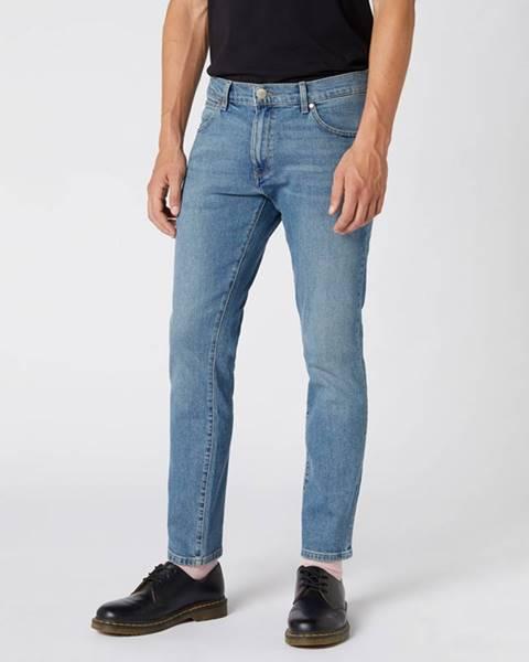 Modré nohavice Wrangler
