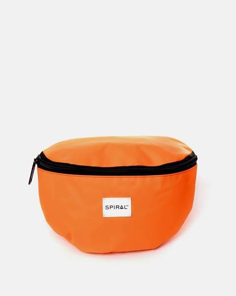 Oranžová kabelka Spiral