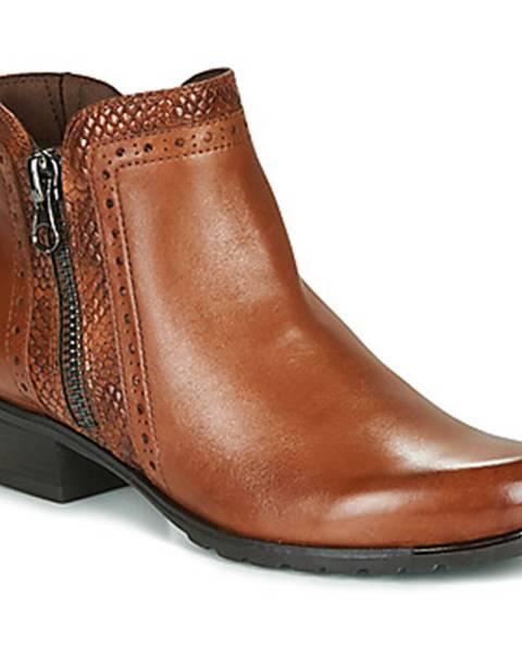 Hnedé topánky Caprice