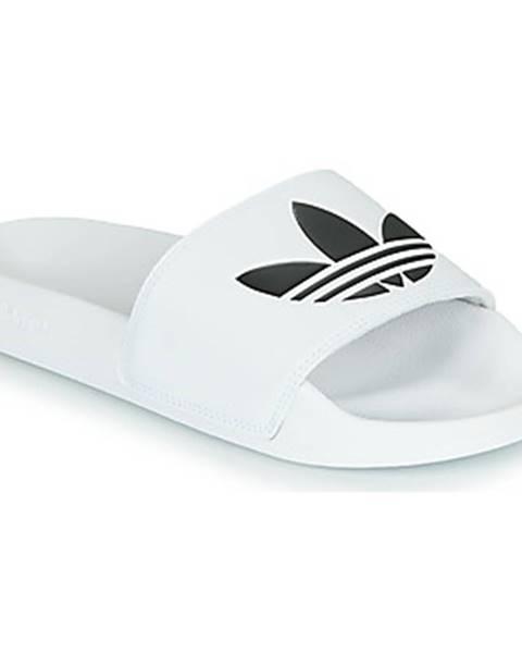 Biele sandále adidas