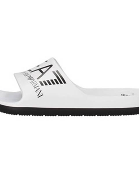 Biele sandále Emporio Armani EA7