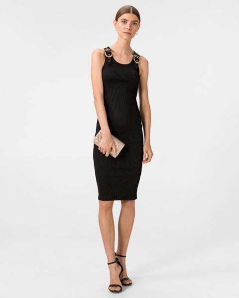Čierna sukňa Versace Jeans Couture