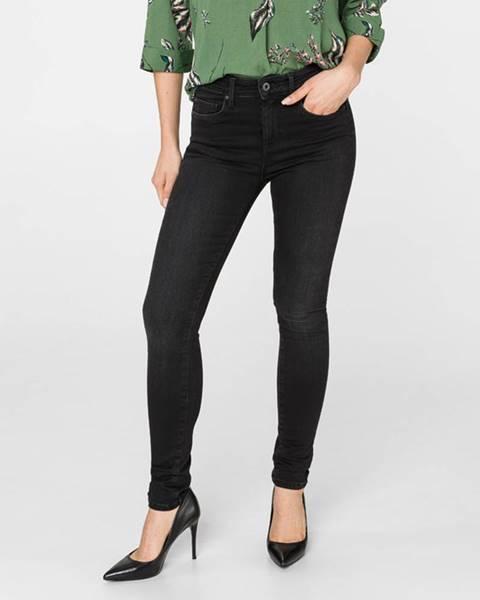 Čierne skinny nohavice Pepe jeans