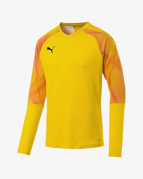 Žlté tričko Puma
