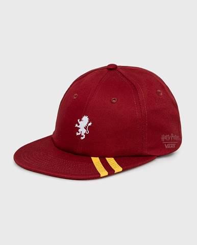 Červená čiapka Vans
