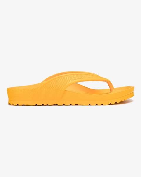 Oranžové sandále Birkenstock