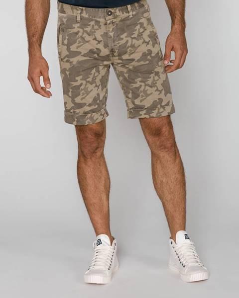 Zelené kraťasy Pepe jeans