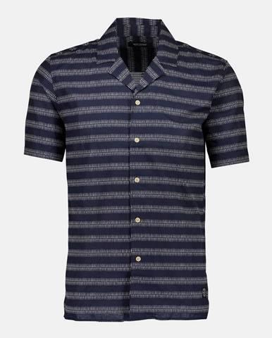 Tmavomodrá košeľa Shine Original